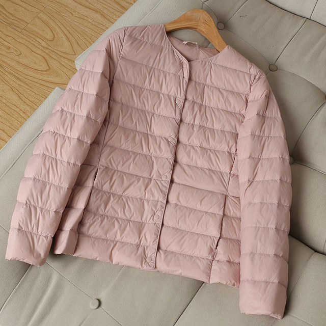 Fitaylor New Winter Women Ultra Light White Duck Down Jacket Short Coats Plus Size S-3xl Warm Female Down Jacket Outerwear 2