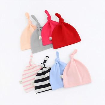 Newborn baby fetal cap warm nursing hat October baby tweeted hat baby cotton small hat