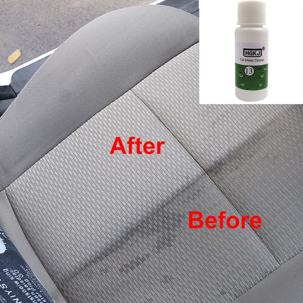 Car Seat Interiors Cleaner 1PCS HGKJ 20ML 1:8 Dilute With Water = 180ML Car Window Glass Car Windshield Cleaning Car Accessories