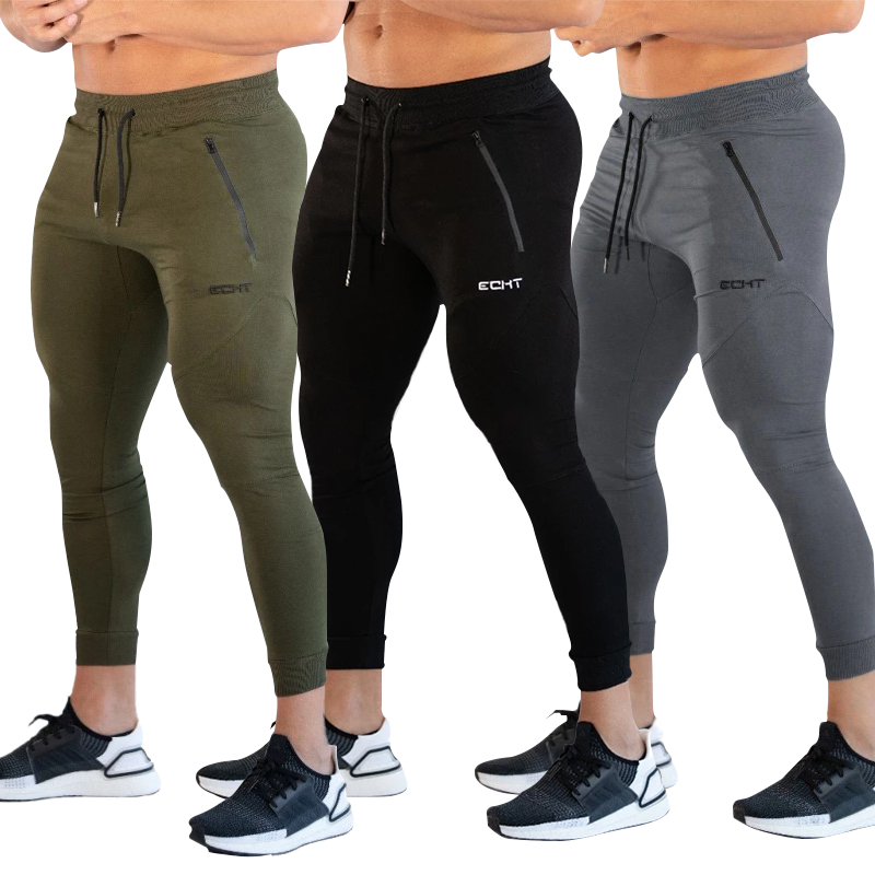 Gyms Pants Men Joggers Fitness Sweatpants Tight Trousers Men Streetwear Leggings Sportswear Training Workout Men Pants Jogger
