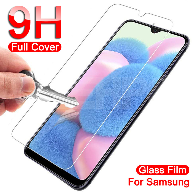 Tempered Glass For Samsung Galaxy A01 A11 A21 A31 A41 A51 A71 Screen Protector Glass Samsung A30 A40 A50 A30S A40S A50S Glass 1
