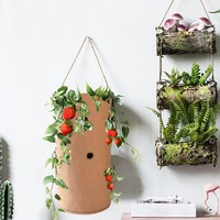 Planting Grow Bag Strawberry Vertical Flower Herb Pouch Root Breathable Vegetable Pot Planter Bag Outdoor Garden supplies