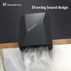 Image 2 - Tenwin cor sem fio secador de ar secador de desenho arte estudante exame sopro pintura aquarela secagem rápida desktop pequeno ventilador ms5700