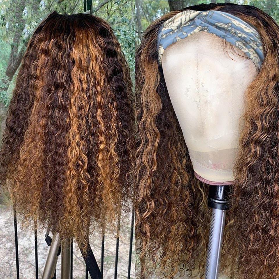 Beaudiva Deep Wave Wig  Highlight P4/27 Color Wig  Natural  Wig  Hair  Headband Wig 3