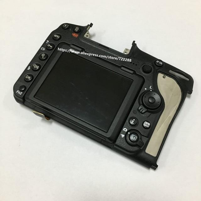 Peças de reparo para nikon d850 capa traseira assy y com unidade tela lcd e cabo flexível dobradiça