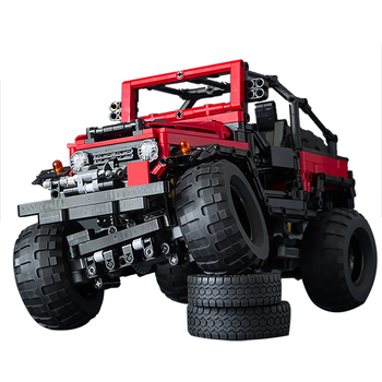 Building Blocks Compatible MOC-4889 FJ40 Crawler SUV Technic Bricks Gifts lepining Diy Toy Christmas Gift 2020pcs alien building blocks diy bricks toy
