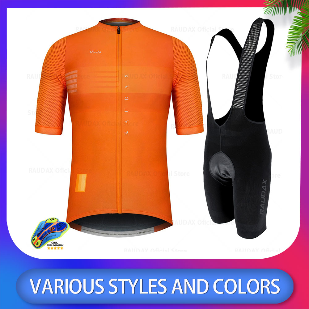 Summer Short Sleeve 2020 New Cycling Jersey Set MTB Cycling Clothing Mountain <font><b>Bike</b></font> <font><b>Wear</b></font> Clothes Maillot Ropa Ciclismo Hombre image