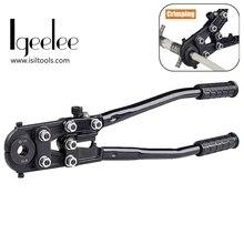 IGeelee Pex фитинг 16-26 мм обжимные инструменты для труб CW-1626 Pex обжимной инструмент для соединения труб с штампами типа U или TH типа