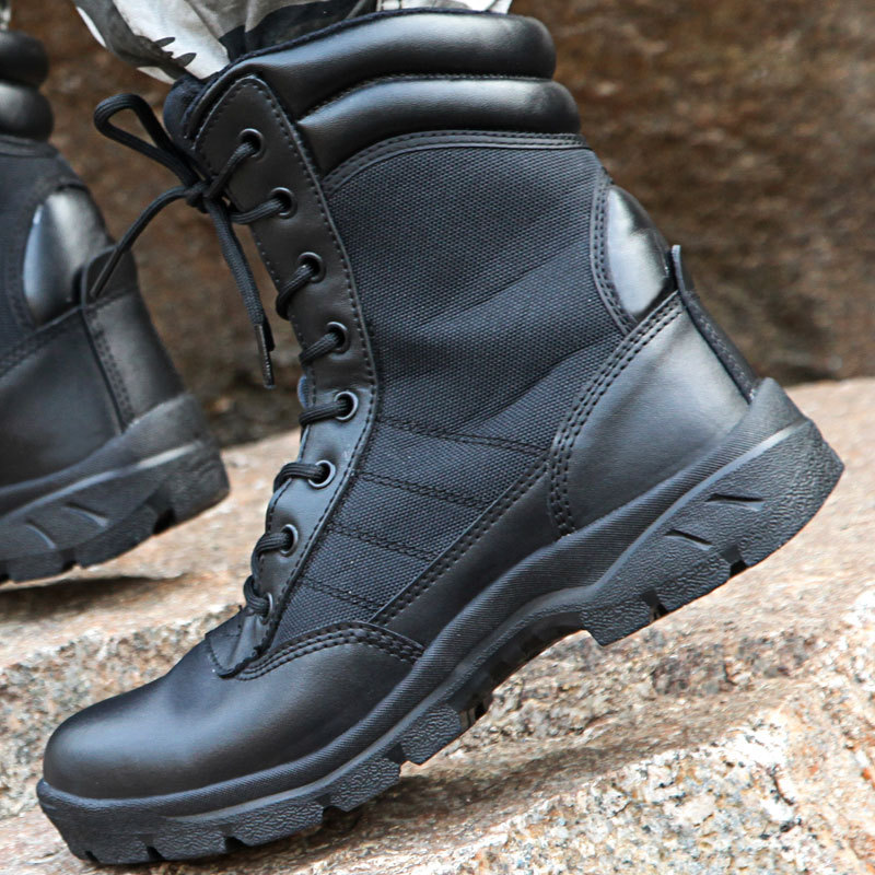 New Style Sky Ultra-Light MEN'S Military Boots Outdoor Tactical Boots Soldier Training Boots Jungle Boots