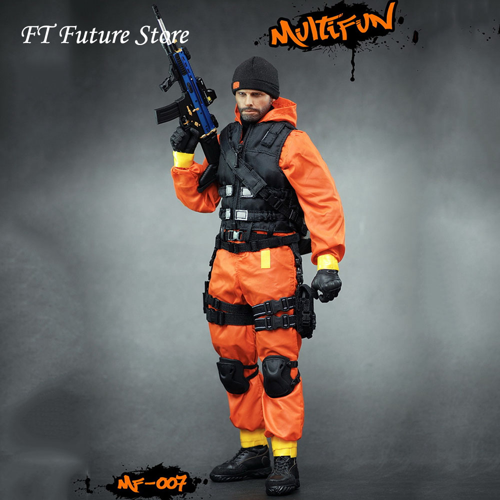 En Stock 1/6 homme Figure vêtements accessoire MULTIFUN MF007 quarantaine Zone Agent vêtements ensemble arme 12 ''action Figure corps