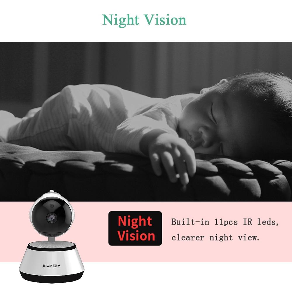 INQMEGA IP Kamera Kablosuz 720 P Ev Güvenlik Gözetleme CCTV Ağ - Güvenlik ve Koruma - Fotoğraf 4