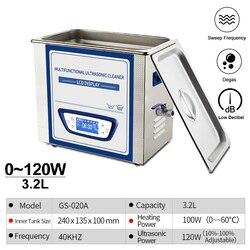 GENENG 3.2L ultradźwiękowa maszyna do czyszczenia Degas Sweep częstotliwość niski poziom hałasu do płytki drukowane części samochodowe zastawa stołowa