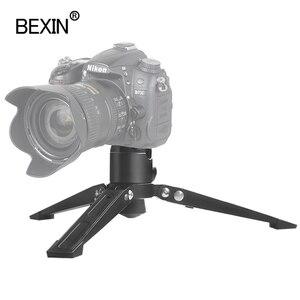 Image 2 - BEXIN monopod القدم دعم ترايبود العالمي المهنية monopod قاعدة قوس فيديو حامل كاميرا محول تركيب ل dslr monpod