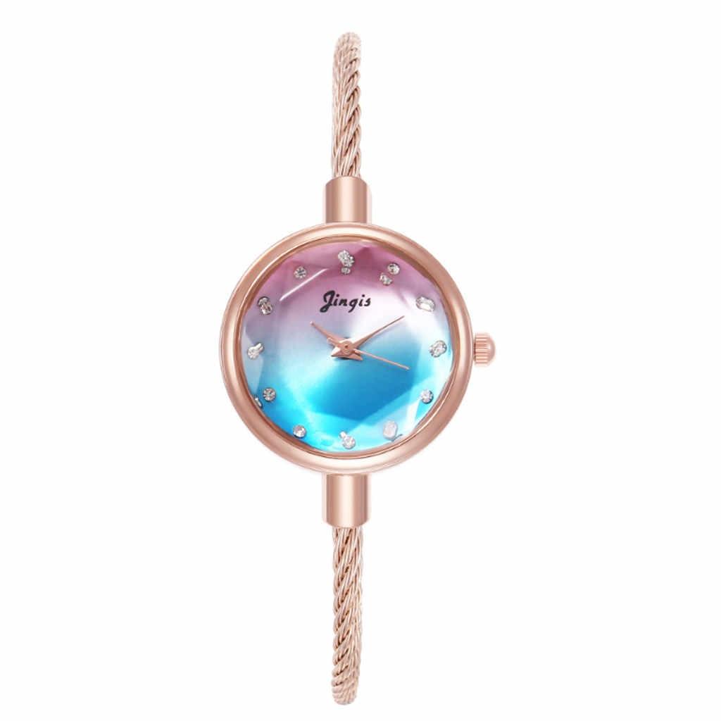 Relogio สร้อยข้อมือนาฬิกาผู้หญิงรอบแฟชั่นสร้อยข้อมือสตรีสร้อยข้อมือนาฬิกาสไตล์ Retro ขนาดเล็ก #10