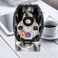 Горячая логотип проектор Открытый 80 Вт Высокая мощность несколько изображений вращения Proyector магазин бизнес реклама дисплей один год гаран...
