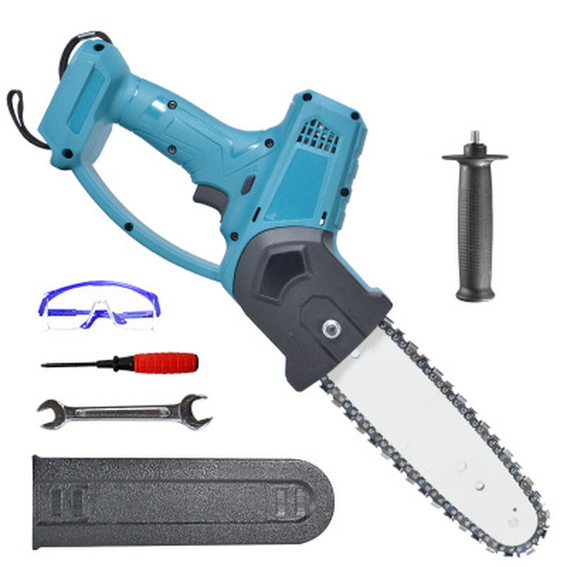 8 inch 1080W Electric Pruning Saw Chainsaw Wood Cutters Bracket Brushless Motor Garden Logging For Makita 18V Battery