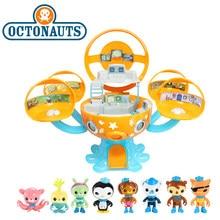 Figura de acción The Octonauts Octopod Gup, Peso Barnacles Kwazii, juguete de modelo de escena, regalos de cumpleaños de Navidad para el Día de los niños