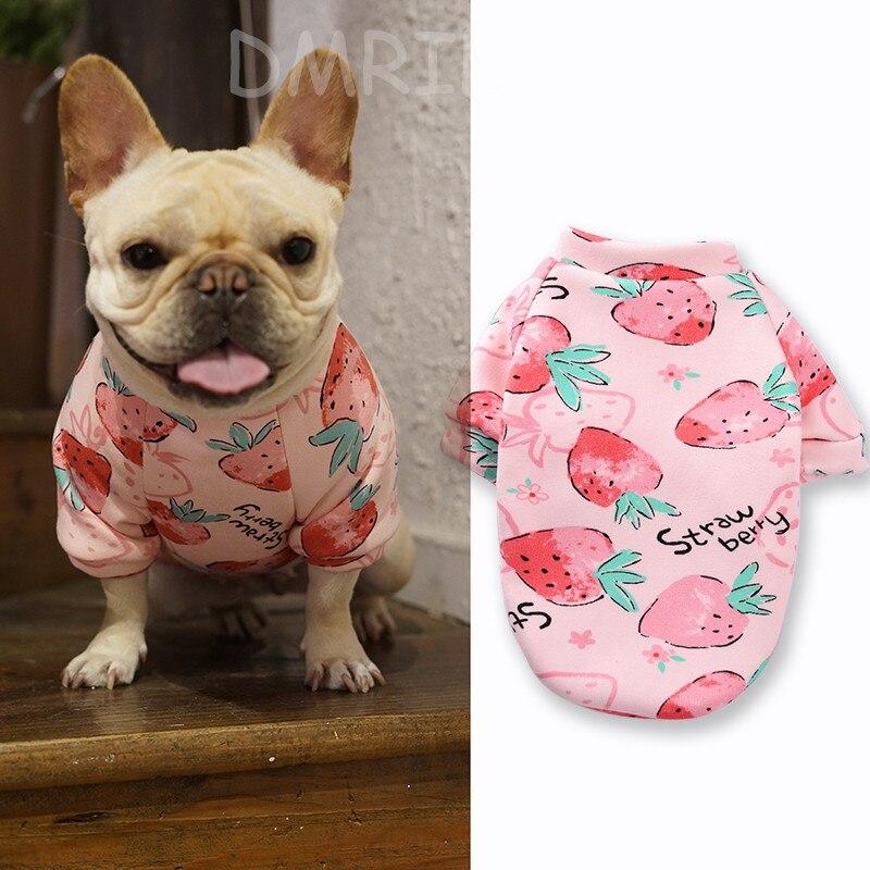 Купить зимняя одежда для домашних животных милая теплая толстовка с