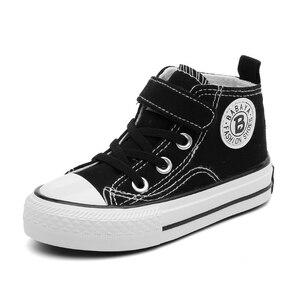 Image 3 - حذاء قماش للأطفال الفتيات أحذية رياضية عالية الفتيان أحذية الشتاء تنفس 2020 الخريف الشتاء موضة الاطفال حذاء كاجوال طفل الأحذية