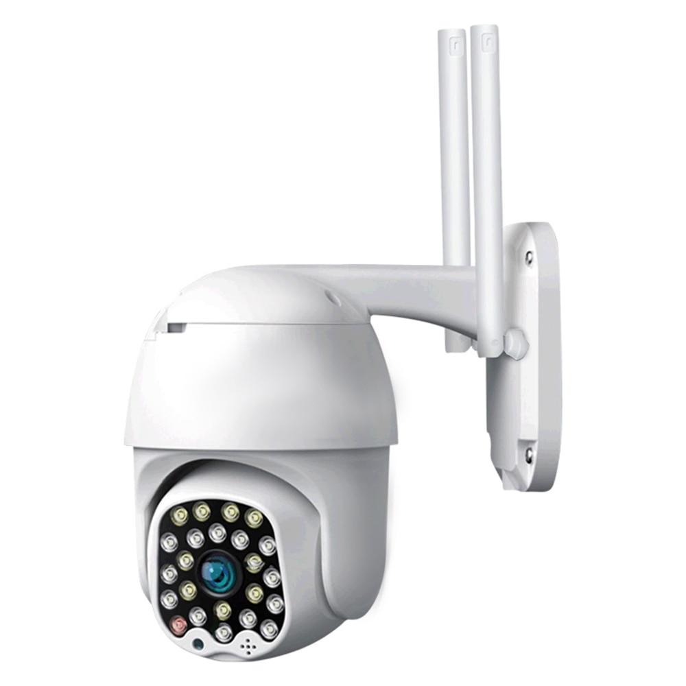 1080P HD quality  Night Vision 30 Meters WIFI IP Camera UK Plug Home Security IP Camera 4x Digital Zoom High Speed Dome Siren