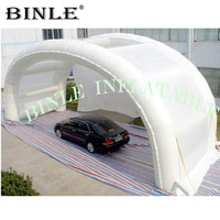 Outdoor Shell Shape Folding Waterproof Inflatable Car Shelter,Mobile Inflatable Car Wash tent with tubes for daily maintainance