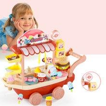 Конфеты Мороженое корзина Детские игрушки ролевые игры шоппинг