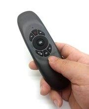Mini Wireless English Keyboard Remote Control