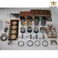 Für Deutz BF4M2012 motor rebuild kit kolben + ring zylinder liner dichtung lager|Kolben  Ringe  Stäbe & Teile|Kraftfahrzeuge und Motorräder -