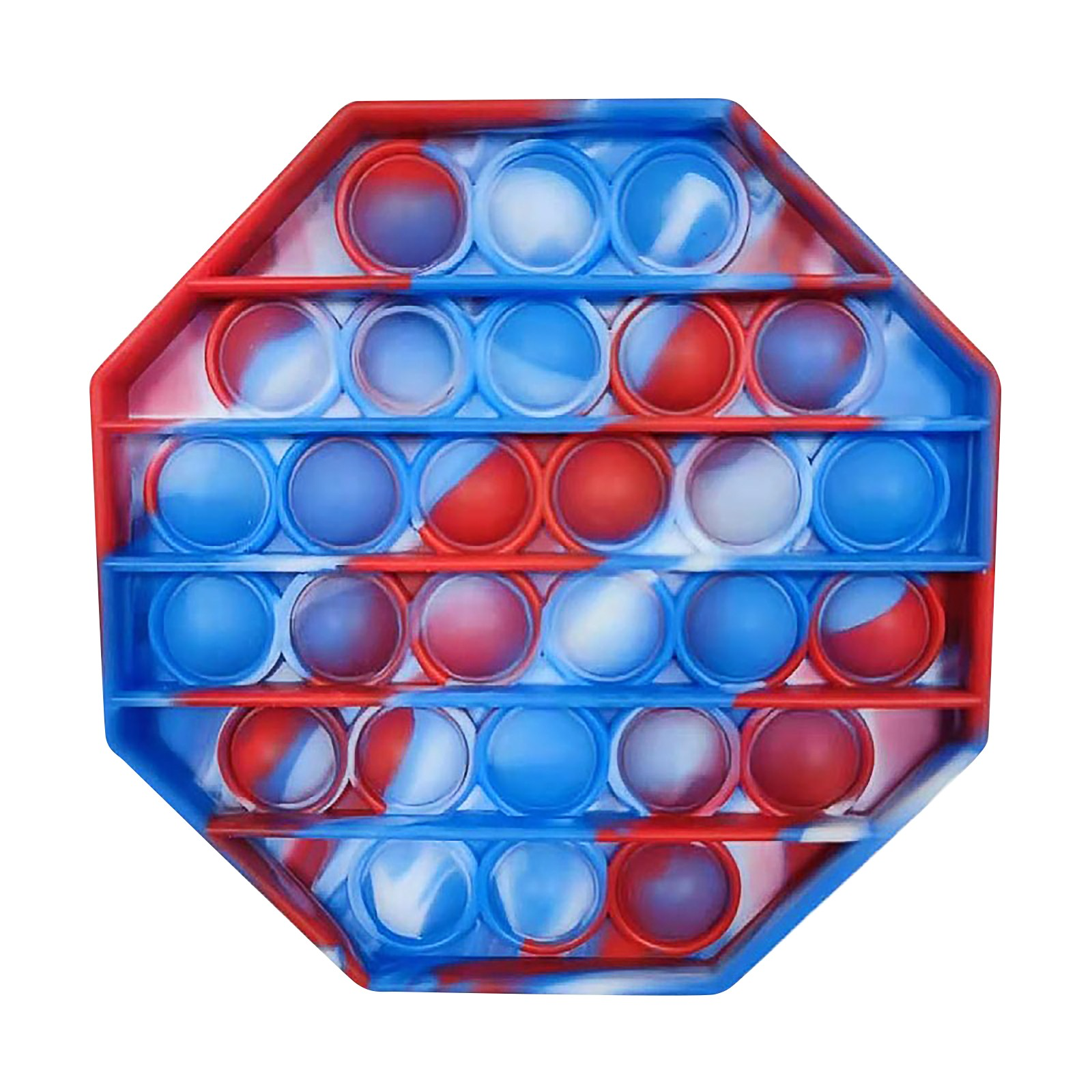 Sensory Toy Stress-Toys Fidget Reliver Rainbow-Push Children Adult It img5