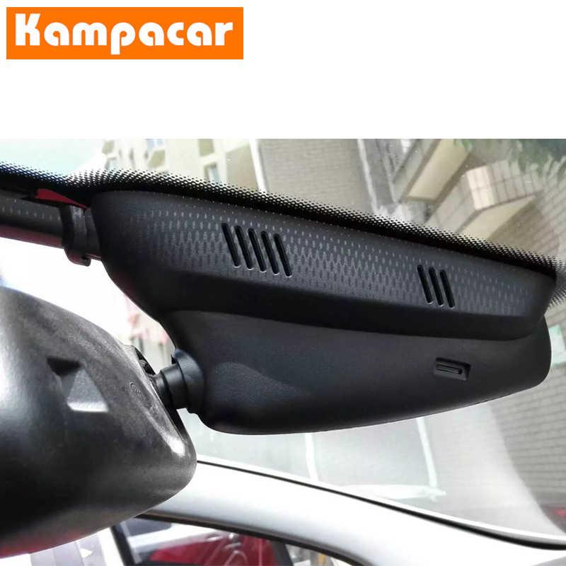 Kampacar z dwoma obiektywami Wifi samochód DVR kamer dla Peugeot 5008 2014 3008 2015 2016 2017 2018 2019 rejestrator DVR z dwie kamery