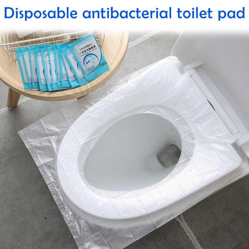 Protable Toilet Paper Bag Mat Disposable Toilet Seat Cover Mat Eco-Friendly Travel Gadget Bathroom Protective Equipment