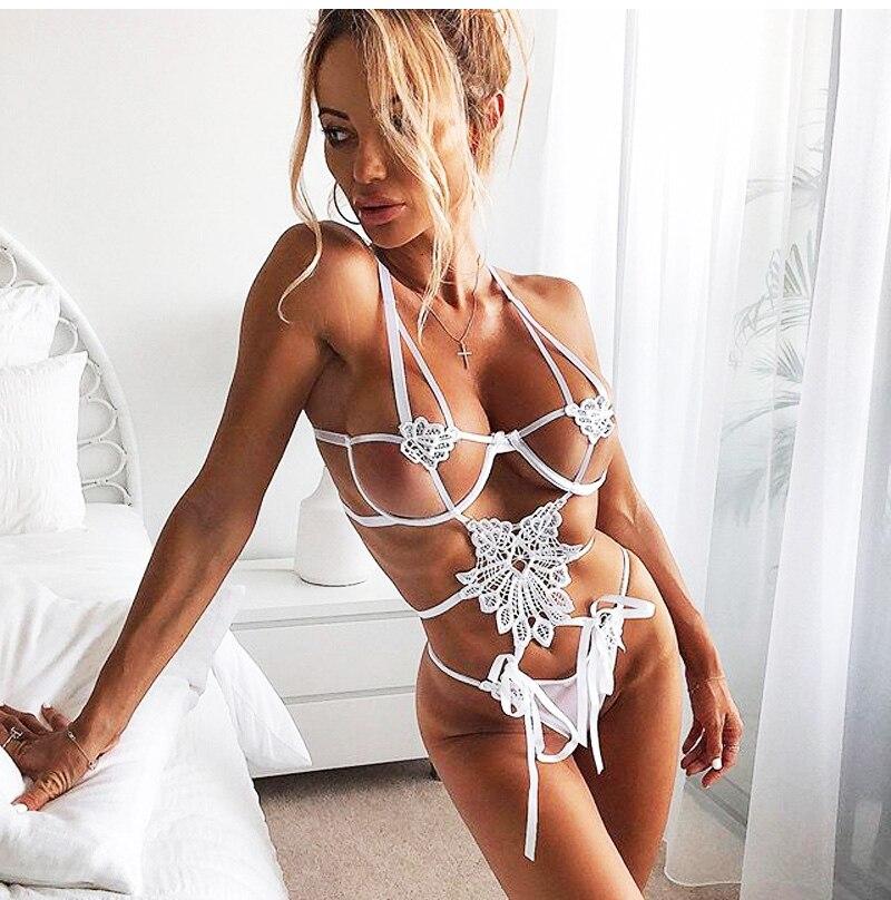 Ensemble lingerie Sexy dentelle chic