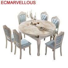 Eettafel Langer Da Pranzo Salle A Manger Moderne Tavolo Meja Makan Wooden European Mesa De Jantar Bureau Desk Tablo Dining Table недорого