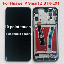 Original สีดำ 6.59 นิ้วสำหรับ Huawei P สมาร์ท Z STK LX1 จอแสดงผล LCD หน้าจอสัมผัส Digitizer อะไหล่ + เครื่องมือ + คู่เทป + กรอบ