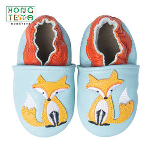 Baby Shoes Newborn Boys Girls Moccasins Soft Genuine Leather Antislip First Walkers Baby shoes 0-24Months Carton Skid-Proof