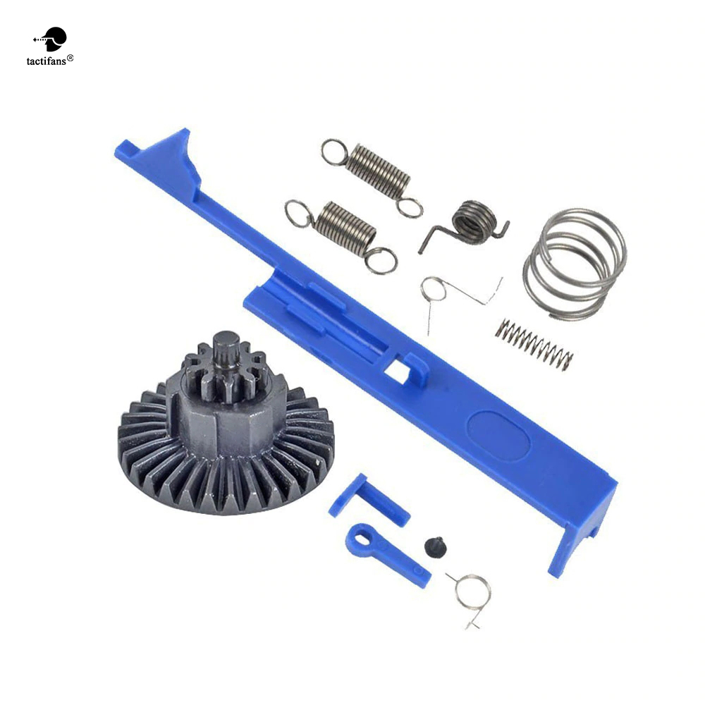 SHS Tappet Plate Version2/3/7 Gearbox Spring Set Safety Lever Switch Bevel DSC Gear AEG Gel Blaster Hunting Accessories