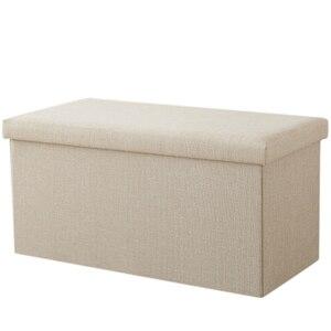 Прямоугольный табурет для хранения может сидеть на взрослом диване, табурет для домашнего хранения, складной ящик для хранения