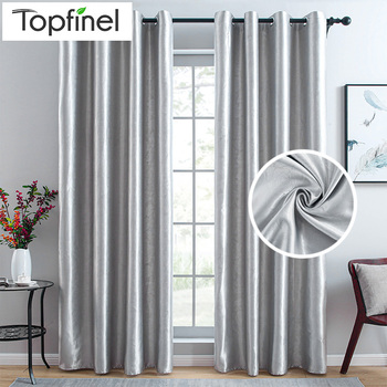 Topfinel Modern Blackout Curtains For Living Room Bedroom Curtains For Window Treatment Blinds Finished Drapes Custom Made 2020 modern blackout curtains for living room bedroom yellow curtains for window curtains drapes treatment finished blinds custom