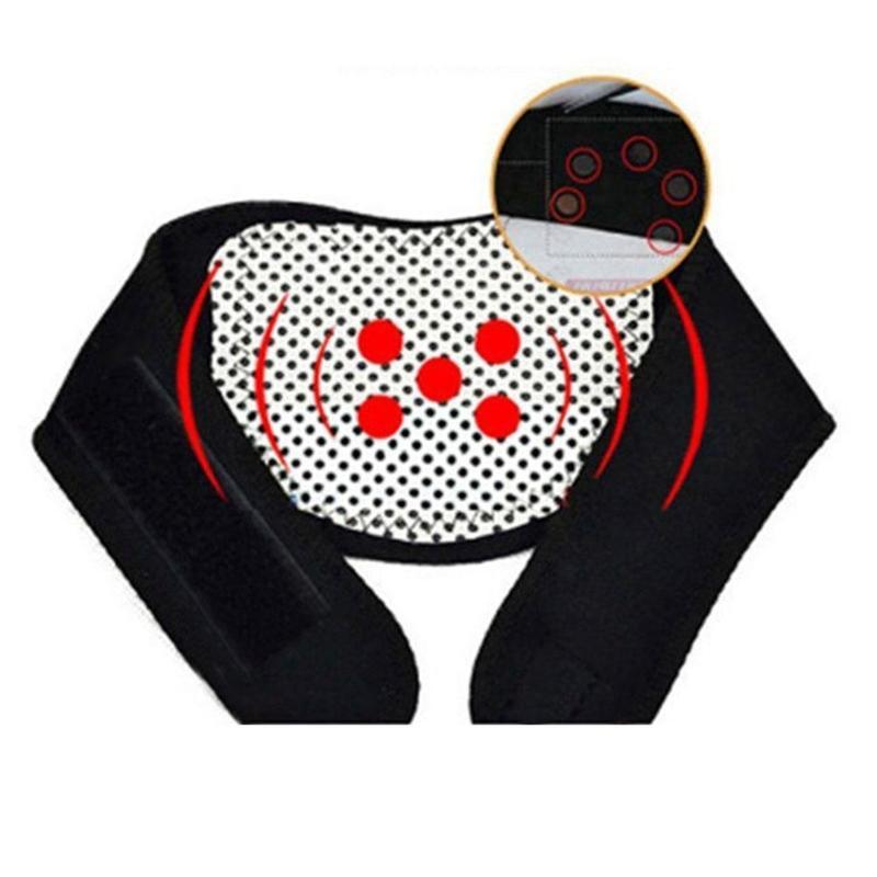 OPHAX 1Pcs Tourmaline Self-heating Neck Support Massager Neck Belt Cervical Vertebra Protection Spontaneous Heating Belt Health