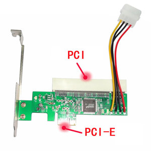 X1/X4/X8/X16 Adapter Card Boards Expansion Express PCI-E To PCI SATA Add On(China)