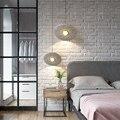 Новый спутниковый Ресторан подвесной светильник современного искусства узорчатый дизайн спальня прикроватная LED-лампа круглый Обеденная ...