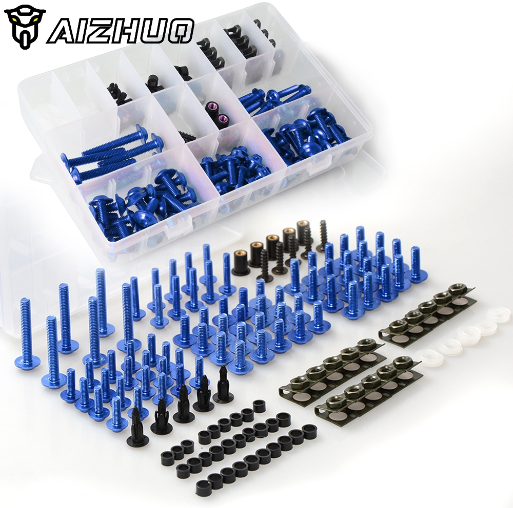 Motorcycle Fairing Bolts Screws Body Spring Bolts Kit For <font><b>YAMAHA</b></font> NMAX <font><b>125</b></font> NMAX 155 <font><b>XMAX</b></font> 300 <font><b>XMAX</b></font> 400 <font><b>XMAX</b></font> 250 AEROX 155 image
