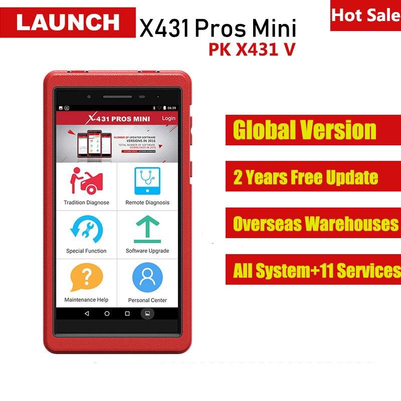 Original Launch X431 PROS MINI Automotive Scanner Car Diagnotistic Tool Auto Diagnostics Scan Tools Professional OBD2