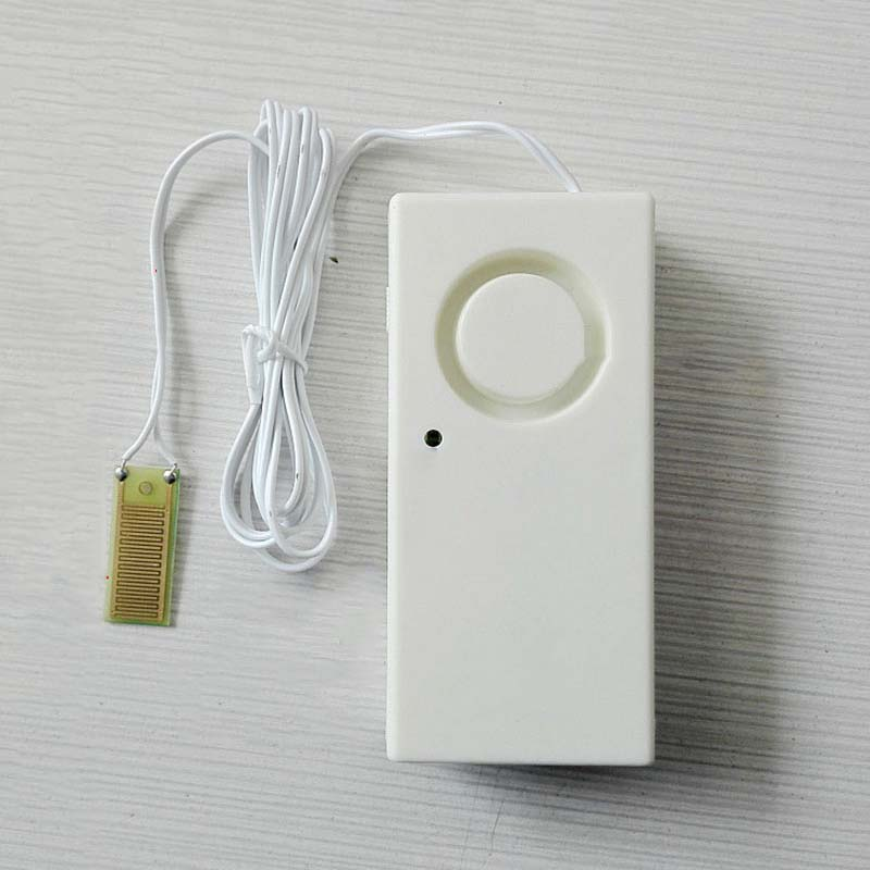 New Alert Overflow Security Alarm System Independent Water Leak Sensor Detection 110dB Water Leakage Home Alarm Detector Flood