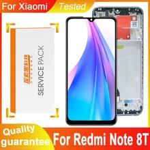 "100% test 6.3 ""ekran değiştirme için Xiaomi Redmi not 8T LCD dokunmatik ekran Digitizer meclisi Redmi için not 8T ekran"