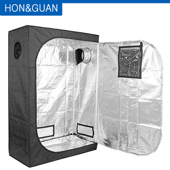 600D Grow Tent Mylar Hydroponic Indoor Grow Room for Grow Light and Growing Plant & Observation and Floor Tray for Indoor Plant