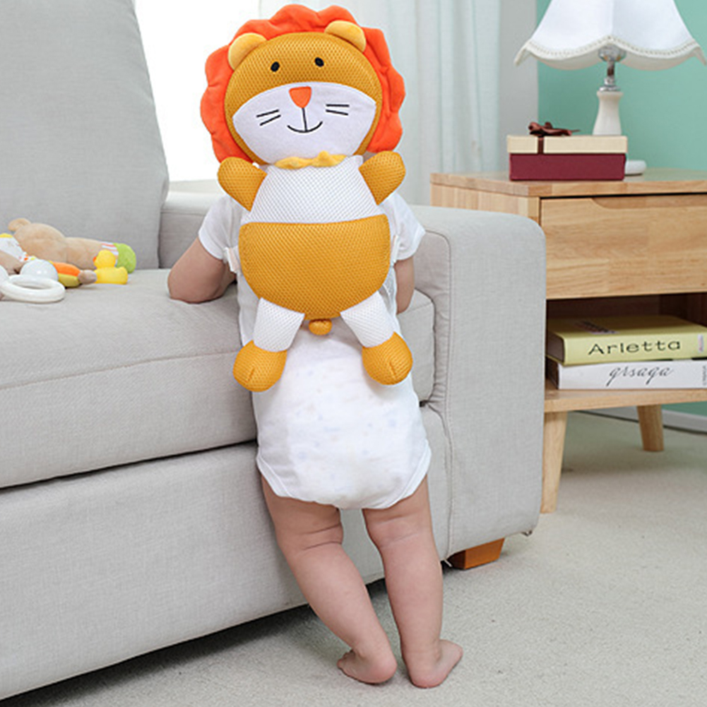 Baby Head Protection Pillow Cartoon Baby Fall Pillow Soft Polypropylene Cotton Baby Protection Pad Baby Head Safety Care 2021
