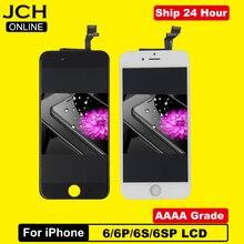 Aaaa grau para o iphone 6 6s mais display lcd com 3d força toque digitador da tela de reposição assembléia peças 6s plus + presentes
