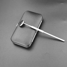 Стоматологические зеркальные инструменты из нержавеющей стали для проверки наращивания ресниц Инструменты для нанесения ресниц и чистки зубов