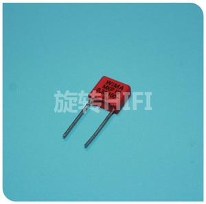 Image 1 - 10 pces vermelho wima mkp10 0.33uf 100v p7.5mm original novo MKP 10 334/100 v áudio 330nf filme 334 pcm7.5 venda quente 0.33 uf/100 v